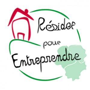 ancien logo résider pour entreprendre